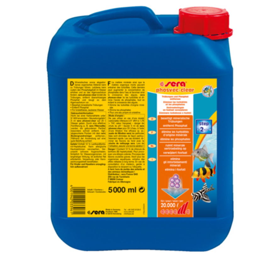 Sera Phosvec-clear 5000 ml