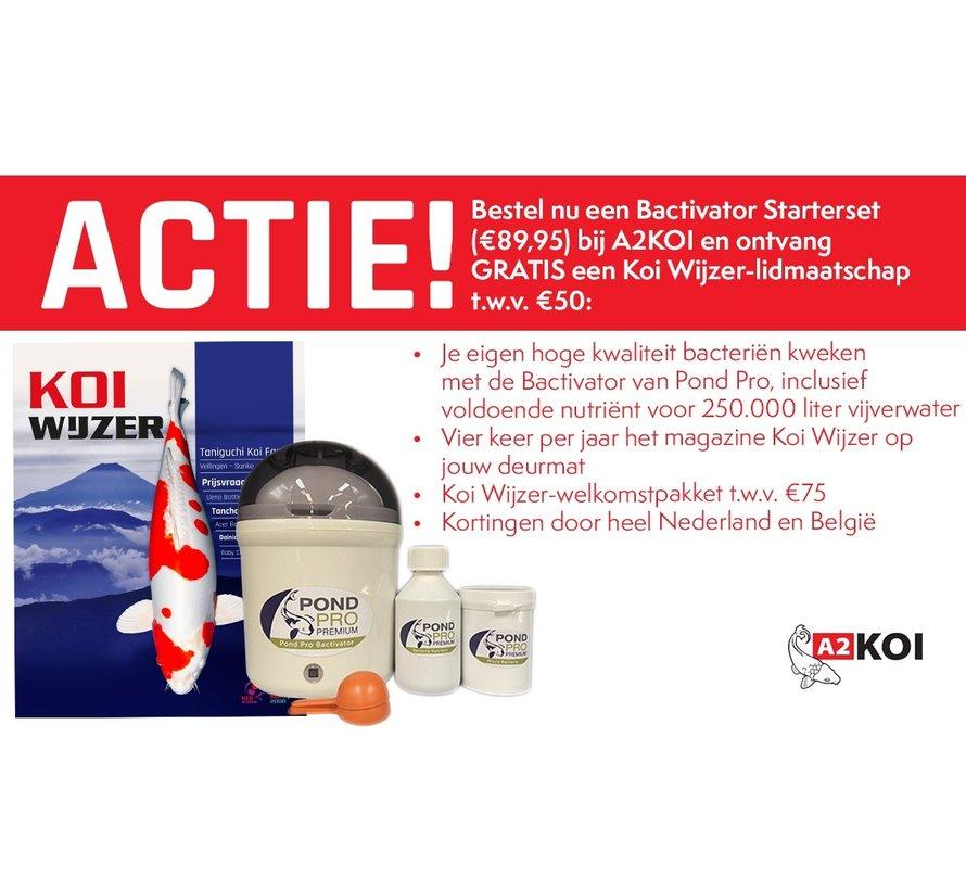 Bactivator Starterset + Gratis Koiwijzer jaarabonnement