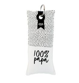 100% Leuk Sleutelhanger 100% Papa