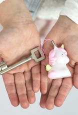 A Little Lovely Company Sleutelhanger Charm Eenhoorn - A Little Lovely Company