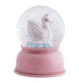 A Little Lovely Company Snowglobe Lamp Zwaan - A Little Lovely Company