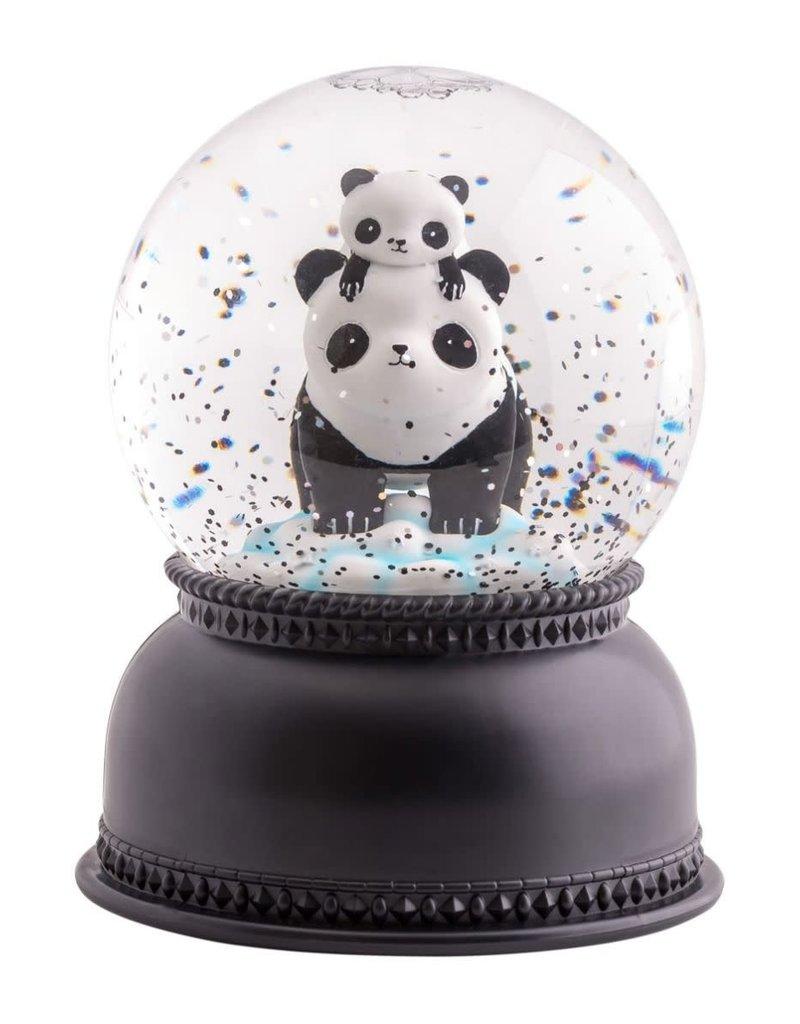 A Little Lovely Company Snowglobe Lamp Panda- A Little Lovely Company