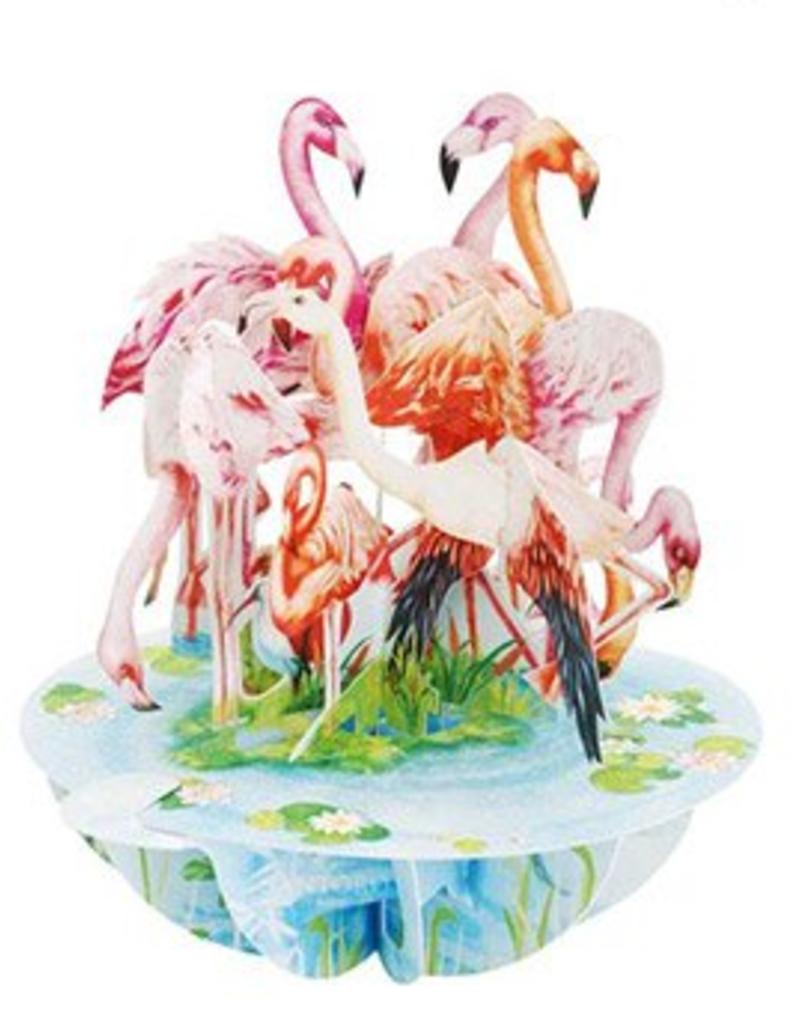 Santoro London Flamingo's - Santoro Pirouettes