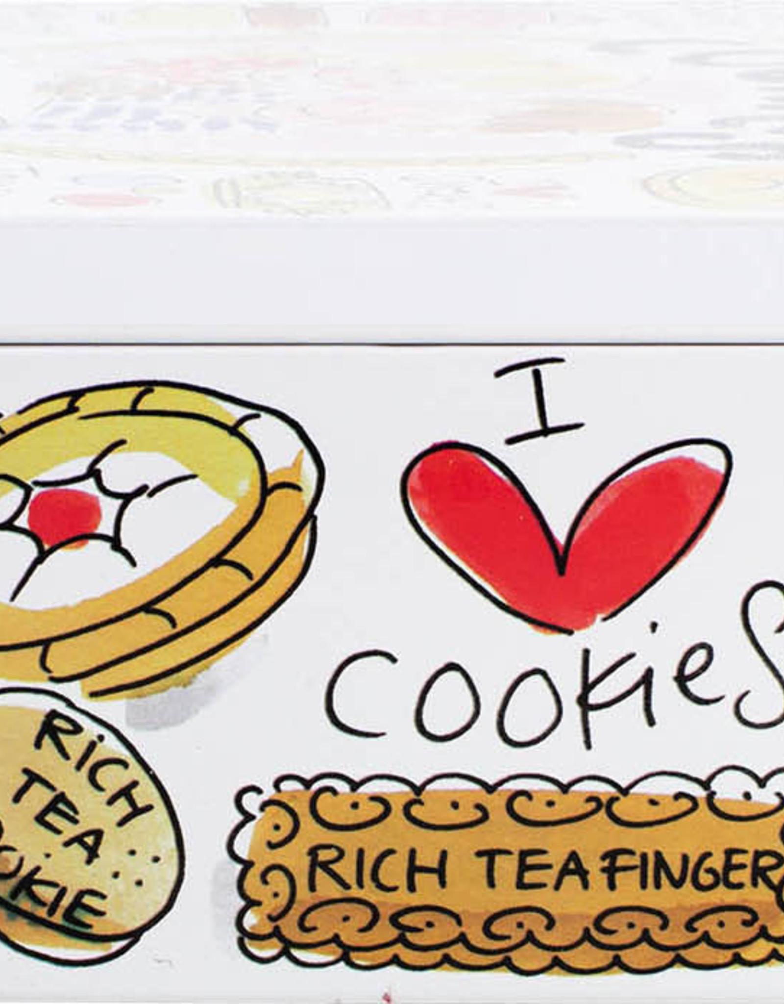 "Blond Amsterdam Blik Cookies ""Even Bijkletsen"" - Blond Amsterdam"