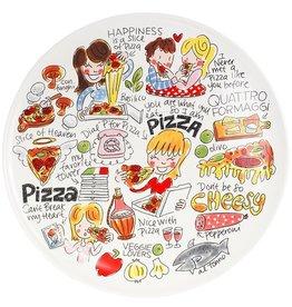 "Blond Amsterdam PizzaBord ""Even Bijkletsen"" - Blond Amsterdam"