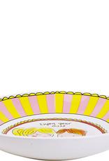 """Blond Amsterdam Diep Bord Streep """"Even Bijkletsen"""" - Blond Amsterdam"""
