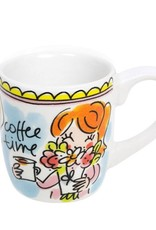 "Blond Amsterdam Espressokopje Coffee Time ""Even Bijkletsen"" - Blond Amsterdam"