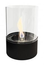 Tenderflame Lilly Glass zwart (tafelhaard) - Tenderflame