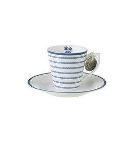 Laura Ashley Kop & schotel espresso Candy - Laura Ashley