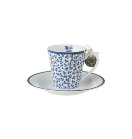 Laura Ashley Kop & schotel espresso Floris - Laura Ashley