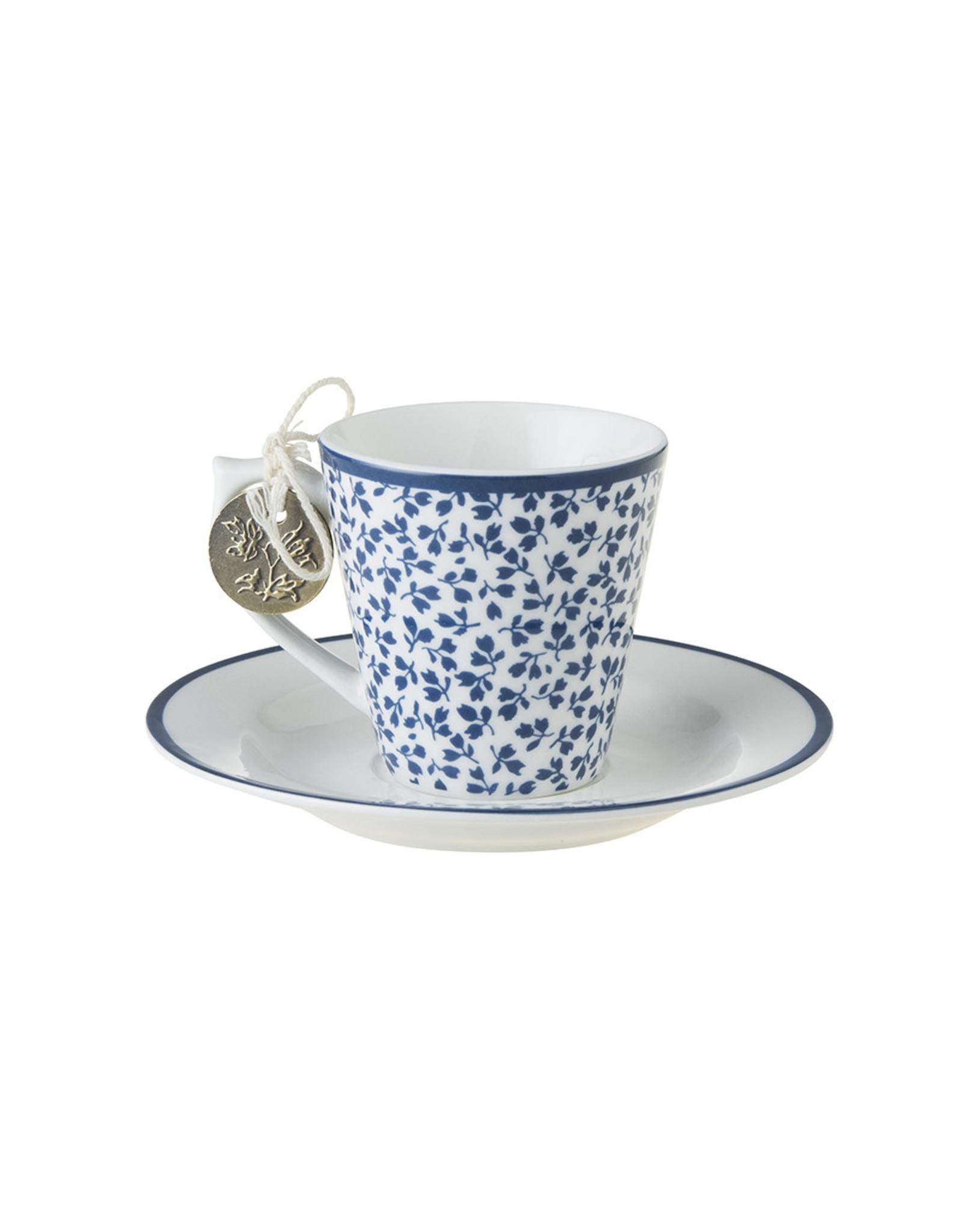 Laura Ashley Kop & schotel espresso Floris - Laura Ashley