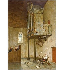 A capella - Wenskaart Marius van Dokkum