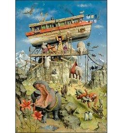 De Ark van Noach - Wenskaart Marius van Dokkum
