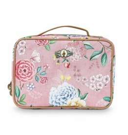 Pip Studio Beauty Case 2-zijdig groot Floral Good Morning roze - Pip Studio