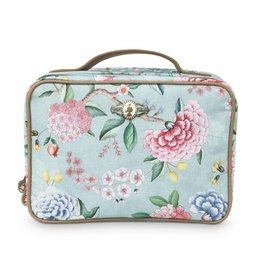 Pip Studio Beauty Case 2-zijdig groot Floral Good Morning blauw - Pip Studio
