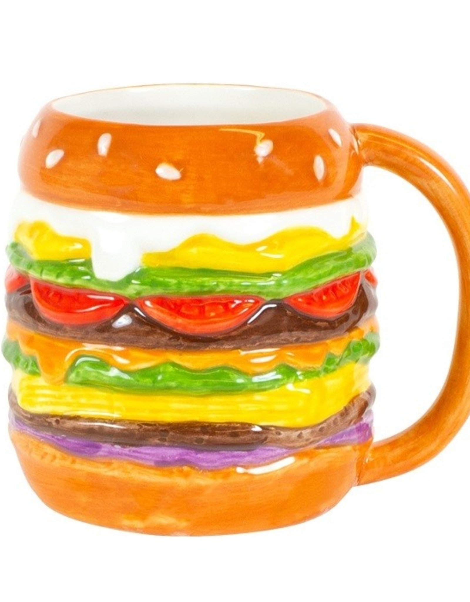 "Blond Amsterdam Hamburger 3D Beker ""Snack"" - Blond Amsterdam"