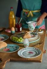 Pip Studio Dinerbord Blushing Birds blauw 26.5cm - Pip Studio