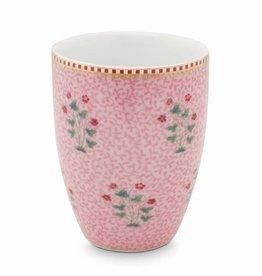Pip Studio Drinkbeker Floral Good Morning roze - Pip Studio