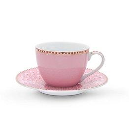 Pip Studio Espresso Kop & Schotel Bloomingtails roze - Pip Studio