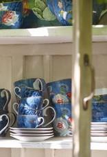 Pip Studio Espresso Kop & Schotel Spring to Life blauw - Pip Studio