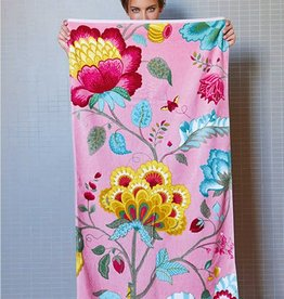 Pip Studio Handdoek groot Floral Fantasy 70x140cm Roze - Pip Studio
