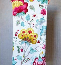 Pip Studio Handdoek groot Floral Fantasy 70x140cm Wit - Pip Studio