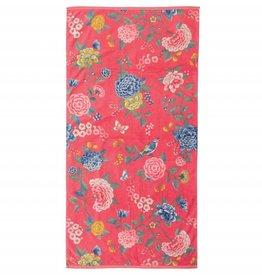 Pip Studio Handdoek groot Good Evening Coraal 70x140cm - Pip Studio