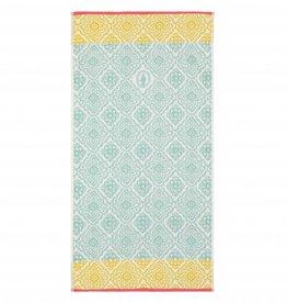 Pip Studio Handdoek groot Jacquard check 70x140cm licht blauw - Pip Studio