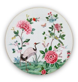 Pip Studio Onderbord Blushing Birds wit 32cm - Pip Studio