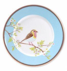 Pip Studio Ontbijtbord Early Birds Blauw 21cm - Pip Studio