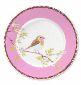 Pip Studio Ontbijtbord Early Birds Roze 21cm - Pip Studio