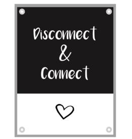 """Kletspot Tuinposter """"Connect"""" - Kletspot"""