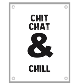 "Kletspot Tuinposter ""Chit"" - Kletspot"
