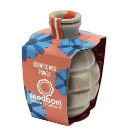 "Seedbom Seedbom ""Cornflower Power"""