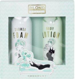 Blond Amsterdam Set Shower Foam & Body Lotion Green - Blond Amsterdam
