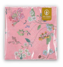 Pip Studio Servetten Hummingbirds roze - Pip Studio