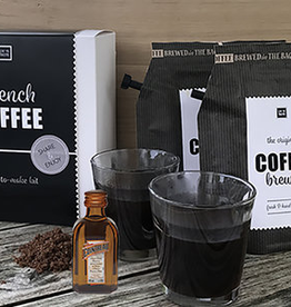 LIV 'N TASTE French Coffee giftset incl. 2 glazen - LIV 'N TASTE