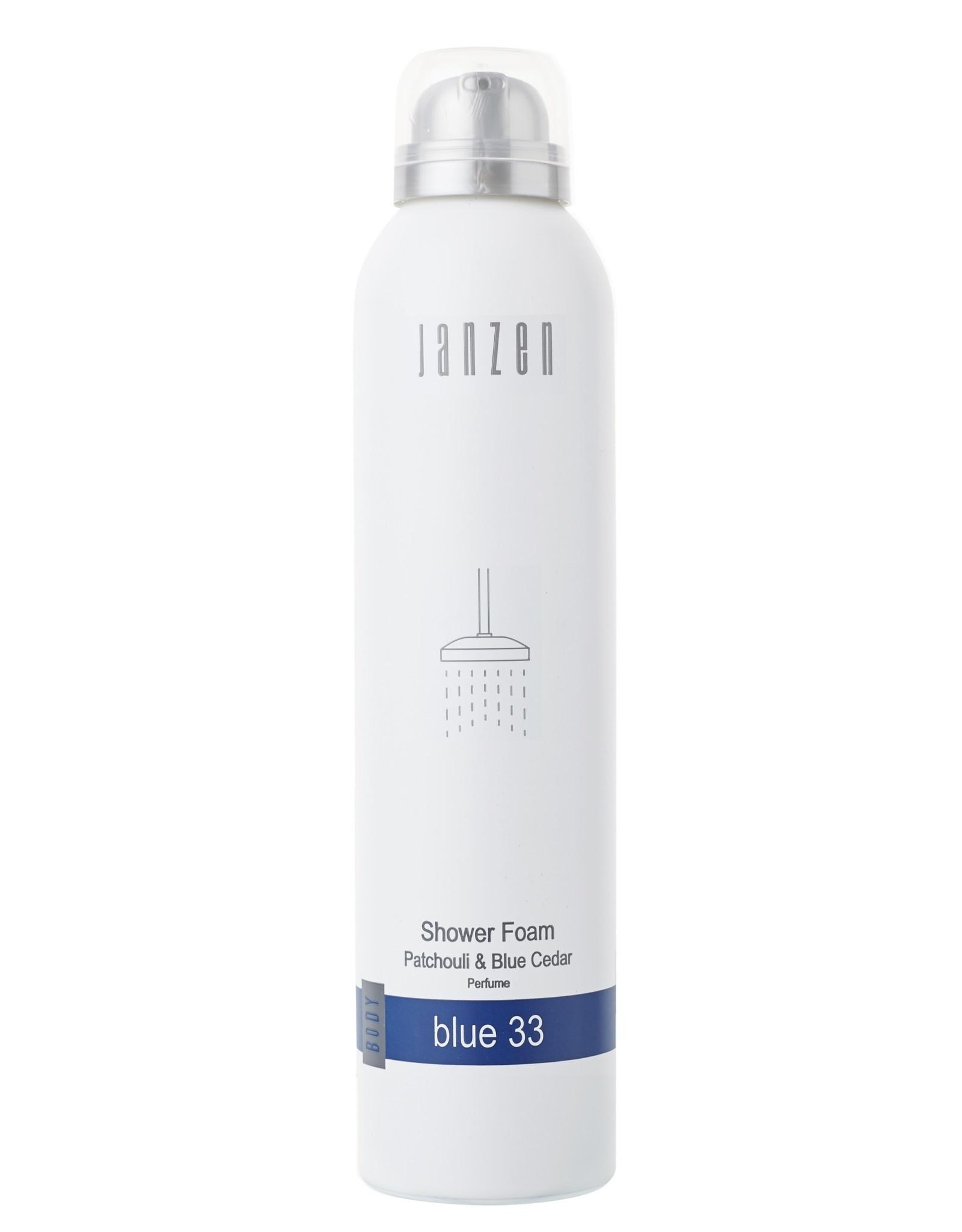 JANZEN Shower Foam 200ml Blue 33 - JANZEN