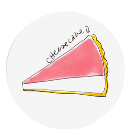 Blond Amsterdam Gebaksbord 18cm Cheesecake - Blond Amsterdam