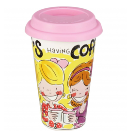 "Blond Amsterdam Coffee to Go beker ""BFF Having Fun"" - Blond Amsterdam"
