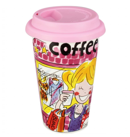 "Blond Amsterdam Coffee to Go Beker ""With My BFF"" - Blond Amsterdam"