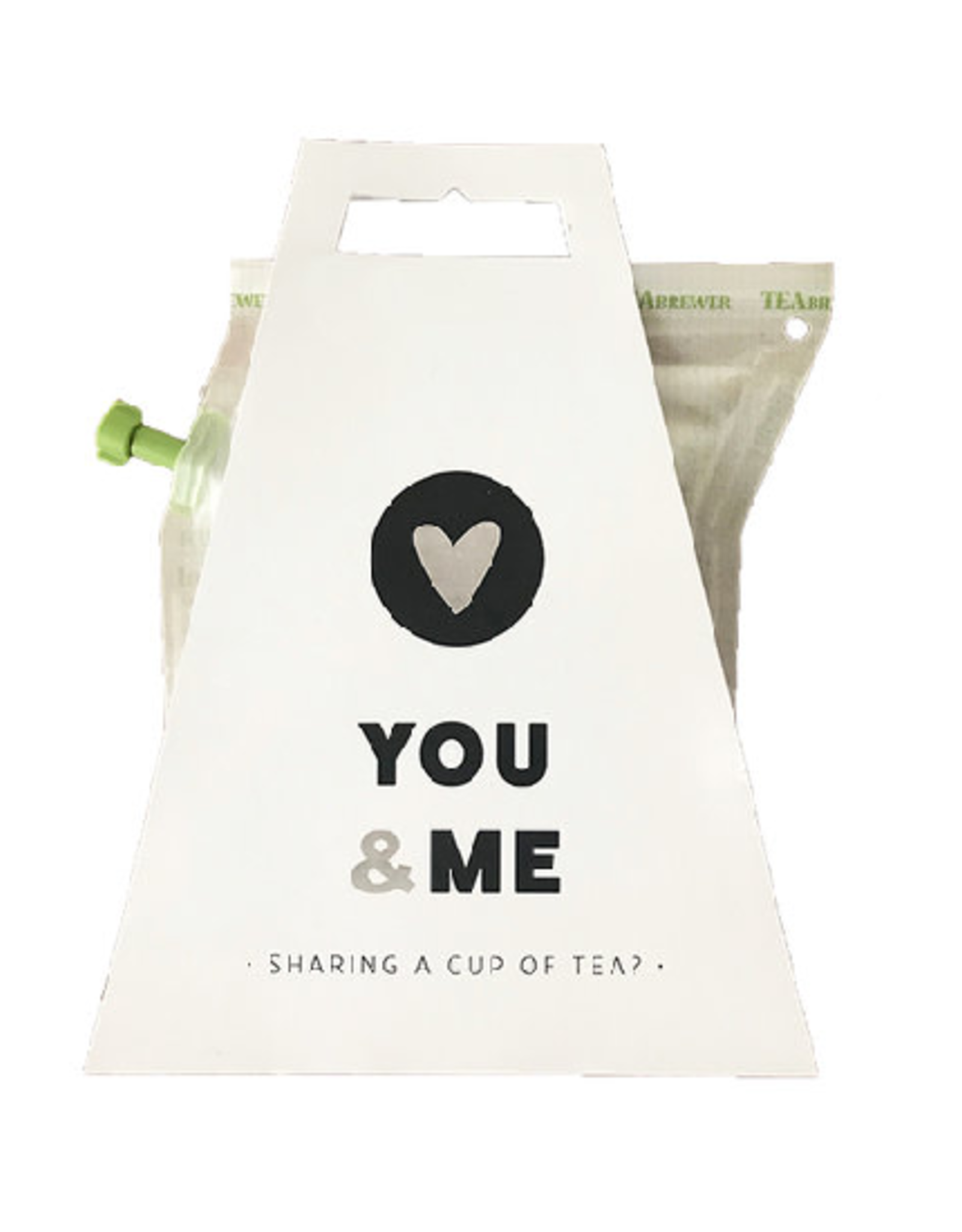 LIV 'N TASTE You & Me. Sharing a Cup of Tea? - TeaBrewer Gift