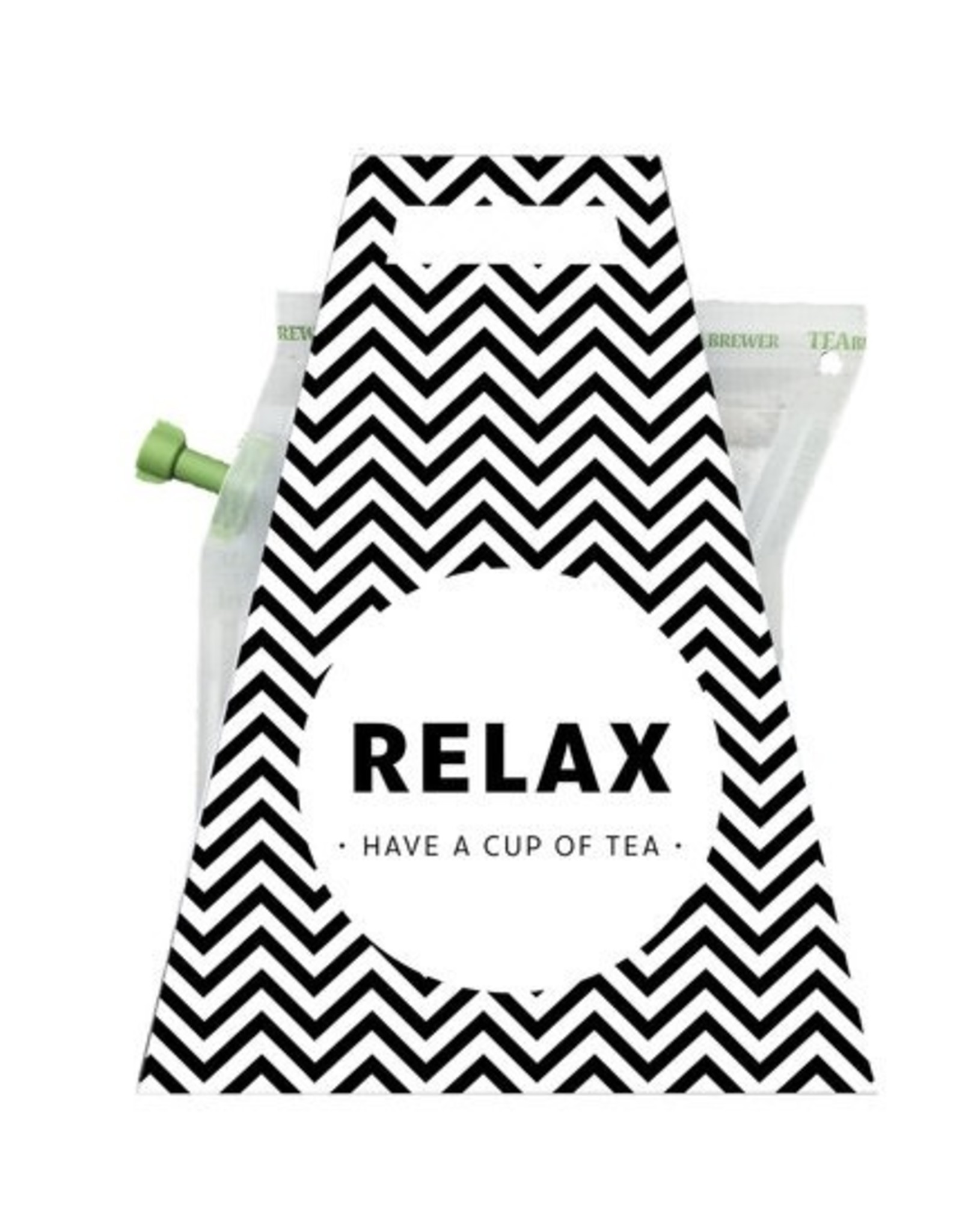 LIV 'N TASTE Relax Have a Cup of Tea - TeaBrewer Gift