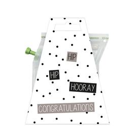 LIV 'N TASTE Hip Hip Hooray Congratulations - TeaBrewer Gift