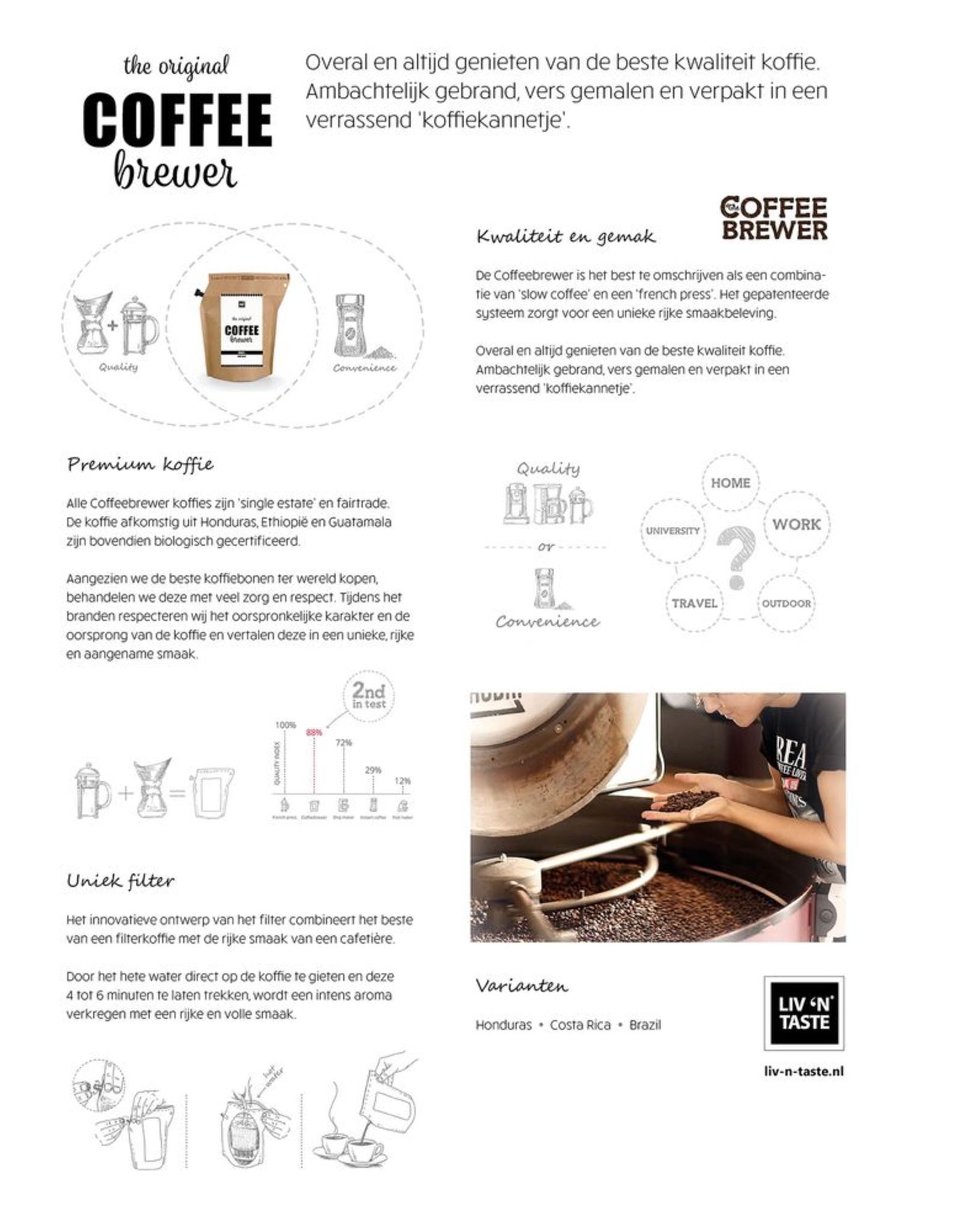 LIV 'N TASTE Super Bedankt - Coffeebrewer Gift