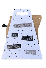 LIV 'N TASTE Hugs, Kisses and Lots of Birthday Wishes - CoffeeBrewer Gift