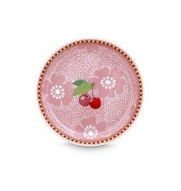 Pip Studio Theetip Dotted Flower 9cm Roze - Pip Studio