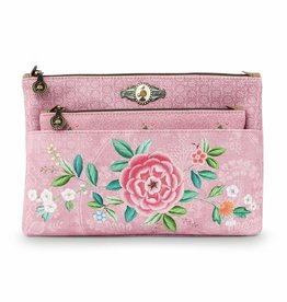 Pip Studio Toilettas Set Floral Good Morning roze - Pip Studio