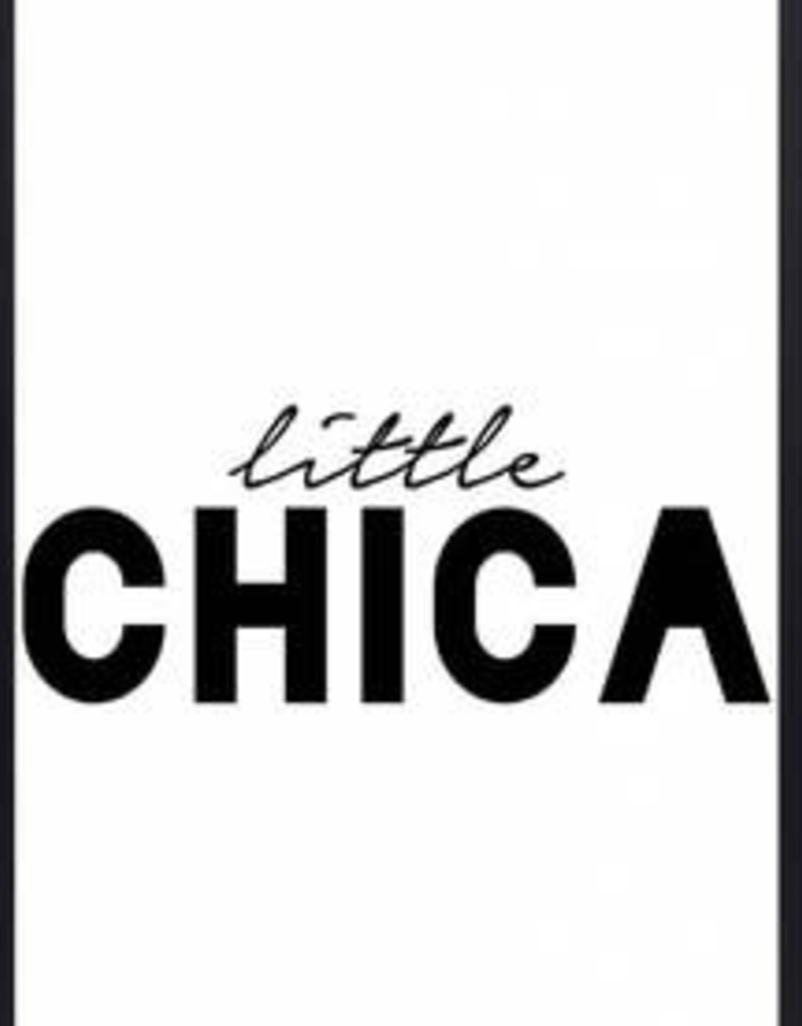 "Zoedt Poster ""Little Chica"" - Zoedt"