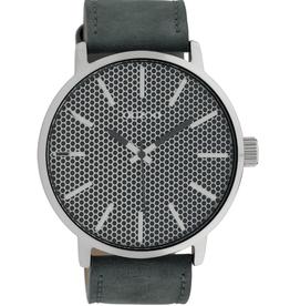 OOZOO Horloge C10038 donker blauw 48mm - OOZOO
